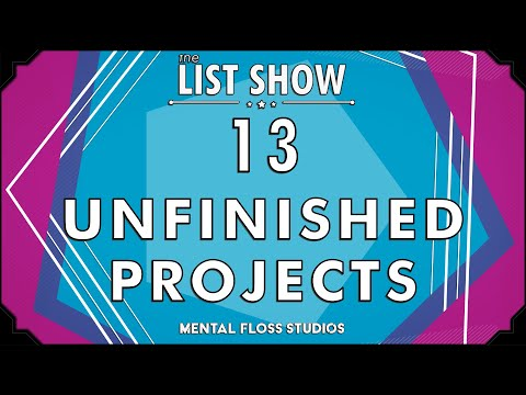 13 World Famous Projects That Are Actually Unfinished!