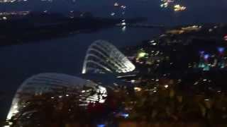 Наш номер в отеле Марина Бэй. Сингапур