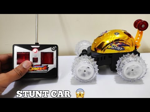360 Stunt Rolling Car Unboxing | Hindi