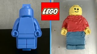 LEGO Minifigure Cake Mold from LEGO - Video Youtube