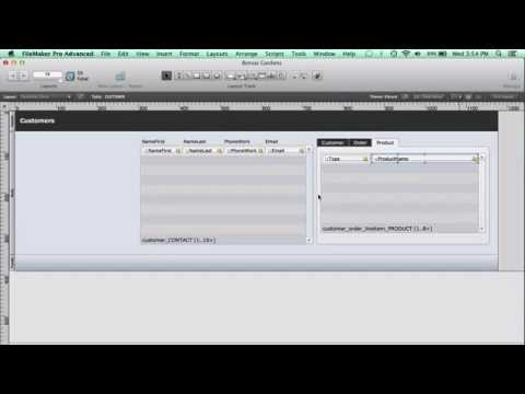 FileMaker Pro 12 Training: Can I Use Tab Controls to...