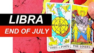 LIBRA SOMEONE IS NOTICING YOU END OF JULY - Love Tarot Reading