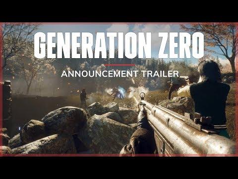 Trailer d'annonce de Generation Zero
