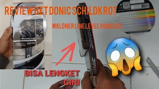 Review bet donic schildkrot waldner line level 900