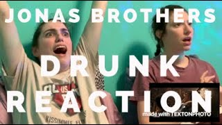 Jonas Brothers   Sucker (Director's Cut) DRUNK REACTION