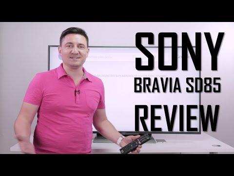 SONY BRAVIA SD85 - 4K, Curbat, HDR? Ce mai urmează? - Urmărește-l în 4K!