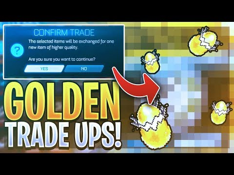 THE LUCKIEST GOLDEN EGG TRADE UPS ON YOUTUBE! (ROCKET LEAGUE RADICAL SUMMER EVENT)