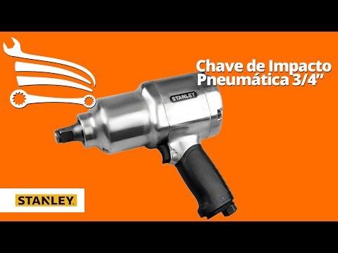 Chave de Impacto Pneumática 3/4 Pol. 1.200 Pé-Lb - Video