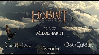 preview picture of video 'A Journey through Middle-Earth (1) [THE HOBBIT] - Chrome Experiment'