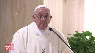 Papa a Santa Marta: la pace dono di Gesù ci dà coraggio