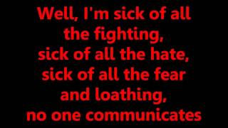 Youth Brigade - Sick (Lyrics)