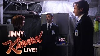 Секретные материалы, Mulder, Scully and Jimmy Kimmel in The X-Files