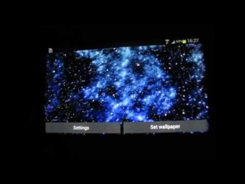Video of Starfield Parallax Wallpaper