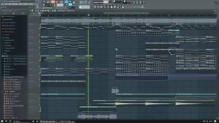 [FL Studio 12] Alan Walker - Alone (DJ LyRicS Remake) (Instrumental)