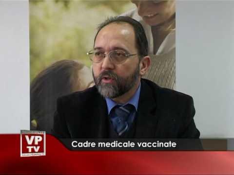 Cadre medicale vaccinate