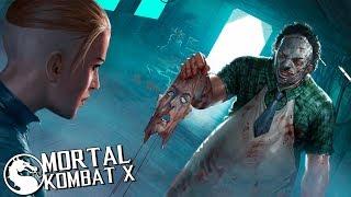ПРОХОЖУ ИСТОРИЮ КОЖАНОГО ЛИЦА в Mortal Kombat X