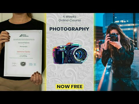 Online Photography Course For Free ⚫ How To Get Free Online Photography Course ?