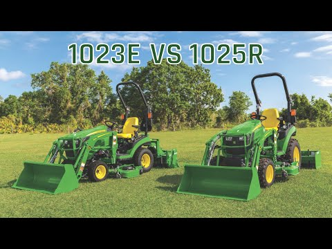 John Deere 1023e vs 1025r | What's the difference?
