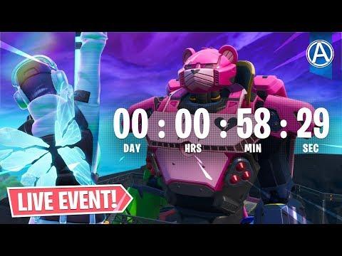 Download New Monster Polar Peak Event Fortnite Battle Royale Video