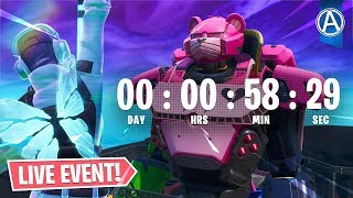 ROBOT vs POLAR PEAK MONSTER EVENT Countdown! // Use Code: byArteer (Fortnite Battle Royale LIVE)