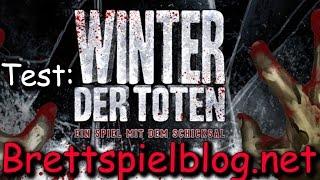 Winter der Toten im Test -  Heidelberger / Plaid Hat Games - Brettspielblog.net