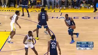 Timberwolves Preseason Highlights vs. Warriors (10.10.19)