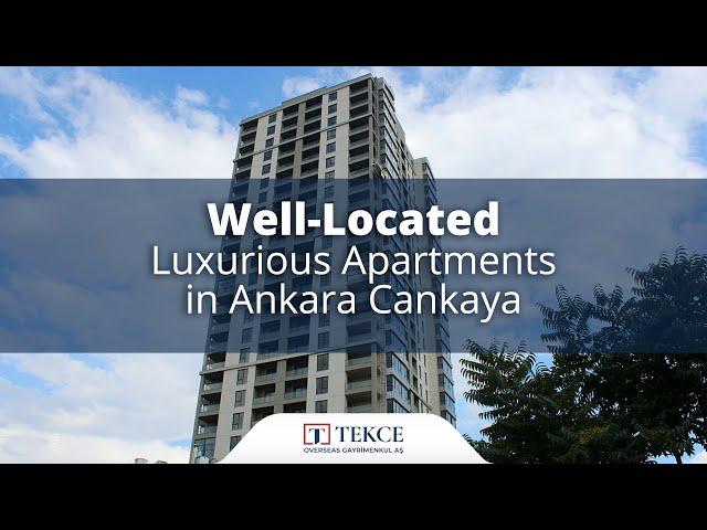 City View Apartments in a Complex in Ankara Gaziosmanpasa