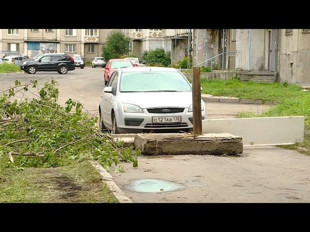 Жители 8 микрорайона строят баррикады