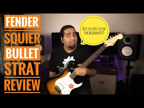 Fender Squier Bullet Electric Guitar Review | Best Electric Guitar For Beginners??
