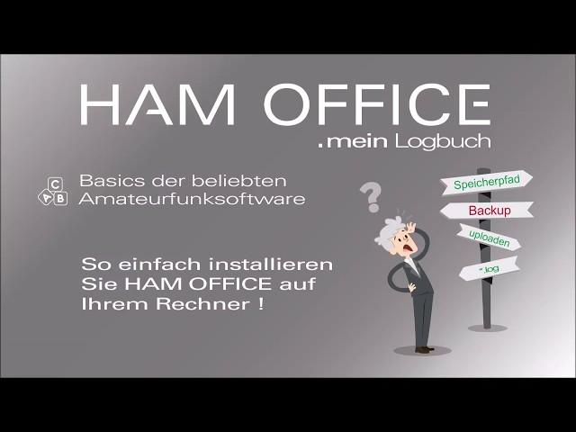 Youtube-Startbild zu HAM OFFICE Basics: Die Standardinstallation des Programms kurz und knapp erklärt