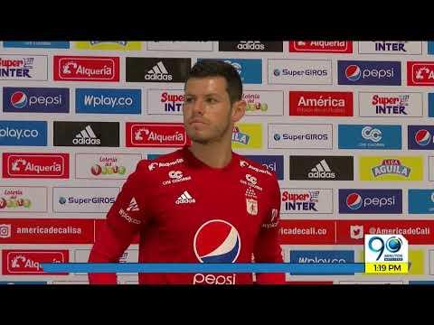 Julio 11 2018 Pedro Franco, octava contratacion del America de Cali para la Liga Águila II