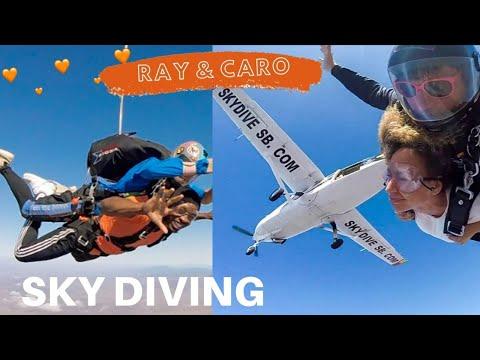 Ray & Caro Go SKYDIVING! [VLOG]