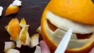 Вот, что можно сделать с апельсином