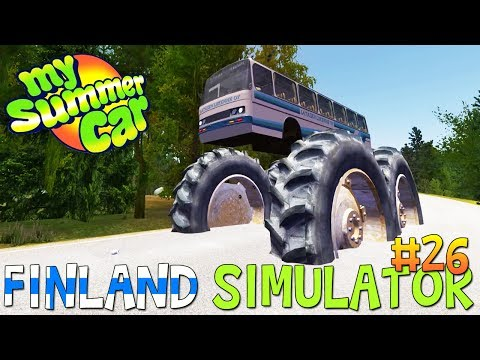 MSTuner - Drive NPC CAR, BUS - My Summer Car #83 (Mod) - игровое