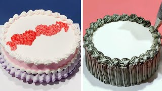 Perfect Cake Decorating Ideas For Occasion | Most Satisfying Chocolate Cake Decorating Tutorial
