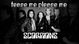 Tease Me Please Me Scorpions