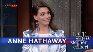 Anne Hathaway Just Had A Wardrobe Malfunction