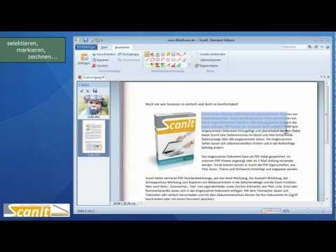 ScanIt - Scannen, OCR-Texterkennung und PDF-Ausgabe