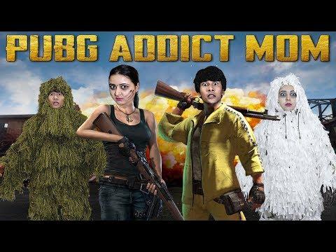 PUBG ADDICT MOM | COMEDY VIDEO | PUBG MOBILE || MOHAK MEET || SWATI