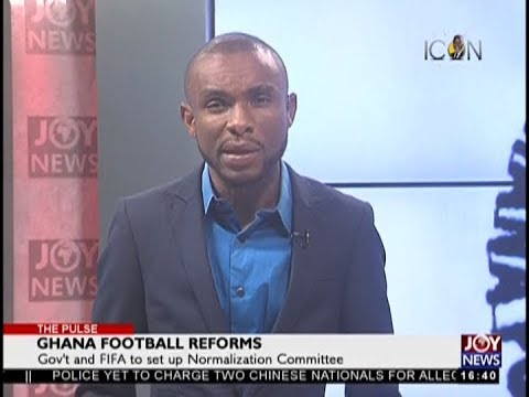 Ghana Football Reforms - The Pulse Sports on JoyNews (12-9-18)