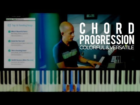 Colorful & versatile chord progression