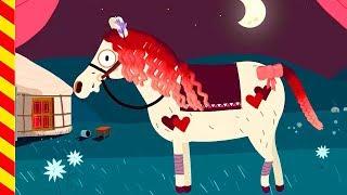 Мультик про лошадь. Наряжаем конячку в зоопарк. Мультик про Пони Пони для детей Развивающие мультики