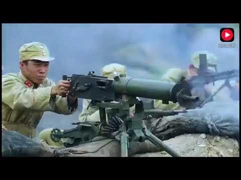 國軍高手死守陣地重機槍都打光子彈,八路軍跑來救場一起殺敵!