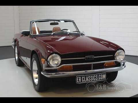 Video of '72 TR6 - Q66N