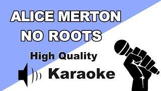 🔴🎤 Alice Merton   No Roots | InstrumentalKaraoke Universe HD🎤🔴
