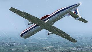 Frozen Horror   Plane Crashes Just Before Landing in Chicago   American Eagle Flight 4184