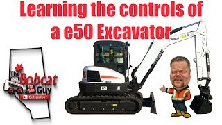 How to Operate a Mini-Excavator: The Bobcat Guy