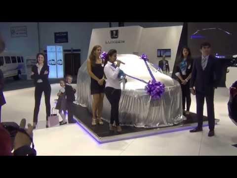 Luxgen - Dubai International Motor Show 2015
