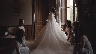 Fairytale Wedding At Luxury Chateau Challain In France / Jumi Story