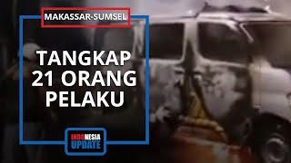 Polisi Tangkap 21 Terduga Perusak Kampus UNM dan Kantor Nasdem Makassar, 5 Orang Masih di Bawah Umur